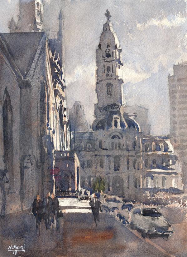 City Hall Philadelphia Thomas Bucci